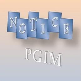MD (Comm. Medicine/Dentistry) PII Exam – Postponed