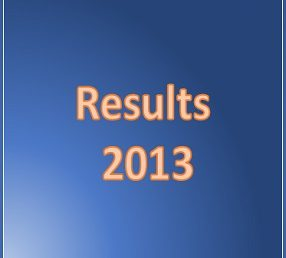 Results 2013