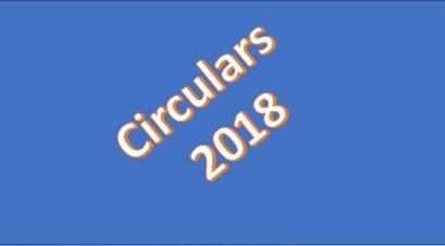 Circulars 2018