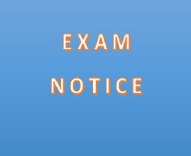 NOTICE To all Candidates Applied for PGIM Examinations