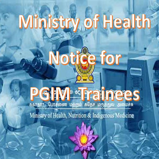 Ministry of Health – Office Day for PG Trainees