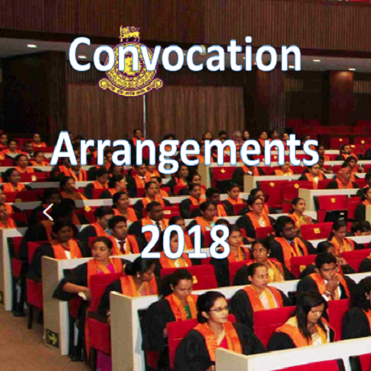 Convocation Arrangements-2018