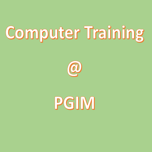 Computer Training Next Batch – 21th September 2019