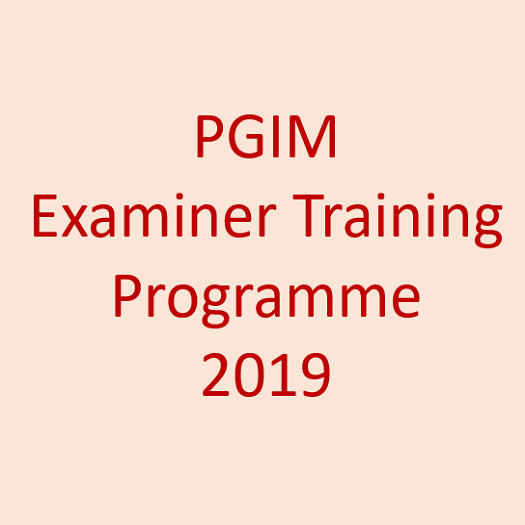 Examiner Training Programme -2019