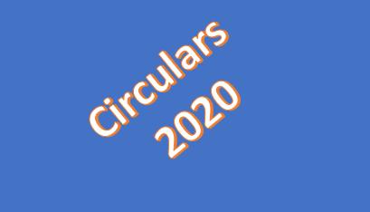Circulars 2020