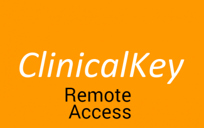 Clinical Key Remote Access