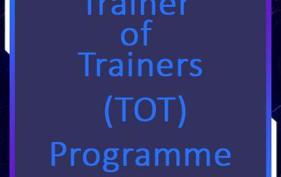 Trainer Training Programme of the PGIM