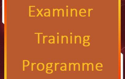 PGIM Examiner Training Programme
