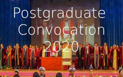 Convocation Arrangement 2020