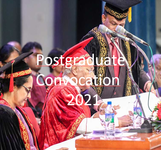 Convocation Arrangement 2021