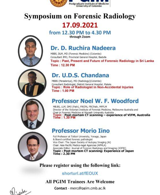 Symposium on Forensic Radiology